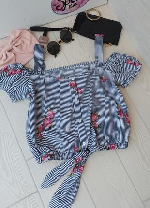 Блуза топ женская легкая