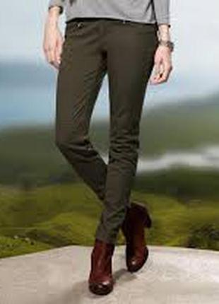 Брючки, джинсы милитари, супер слим, tcm tchibo, германия