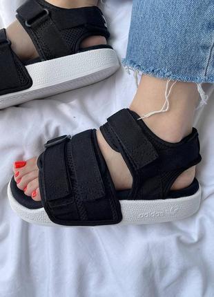 Женские сандали adidas sandals adilette black / жіночі сандалі адідас чорні