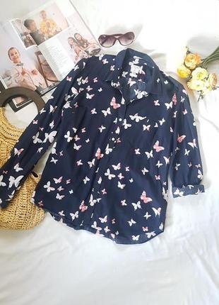 Идеальная рубашка блуза хлопок 100