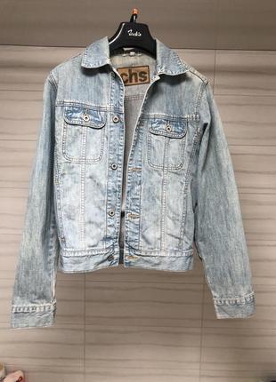 Джинсовая куртка/джинсовка/джинсовый пиджак