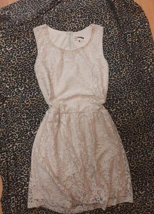Новое платье в нюдовом цвете!