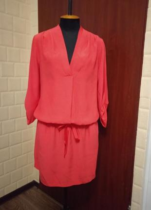 Вискозное платье туника promod.