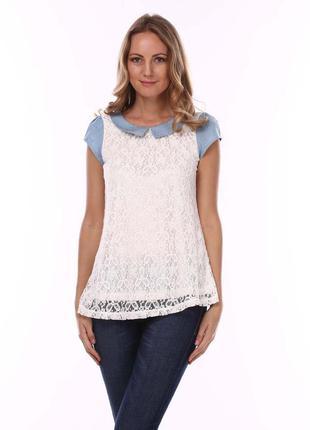 Кружевная блуза cashe cashe