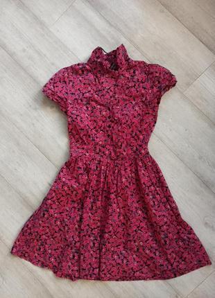 Літнє плаття, сукня котонова h&m.