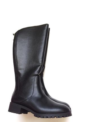 Ботфорти,зимові чоботи,сапоги,ботфорты, bershka, зимние, утепленные, 37 рр, 39 рр