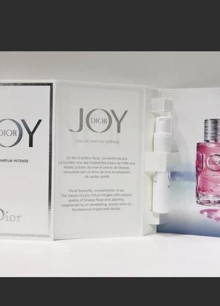 Dior joy by dior intense фирменный пробник.