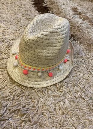 Шляпа соломенная брыль солом'яний капелюх