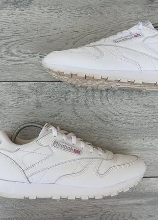 Reebok classic женские кожаные кроссовки оригинал