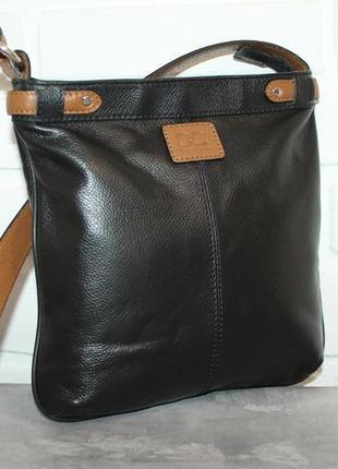 Кожаная сумка мессенджер от debenhams
