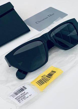 Чёрные солнцезащитные очки christian dior inside out оригинал!1 фото
