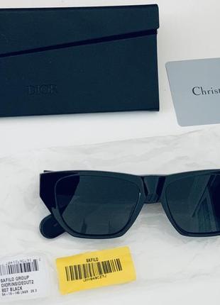 Чёрные солнцезащитные очки christian dior inside out оригинал!2 фото