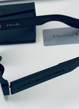Чёрные солнцезащитные очки christian dior inside out оригинал!6 фото