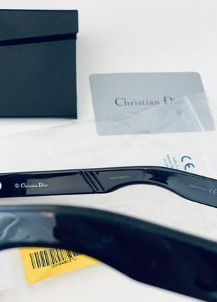 Чёрные солнцезащитные очки christian dior inside out оригинал!5 фото