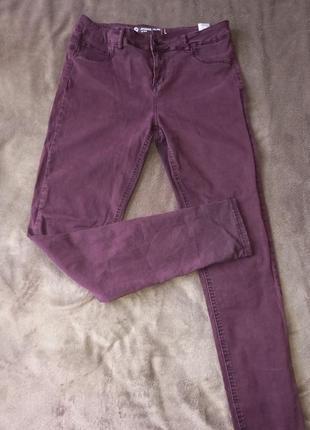 Штаны брюки джинсы скинни узкачи женские