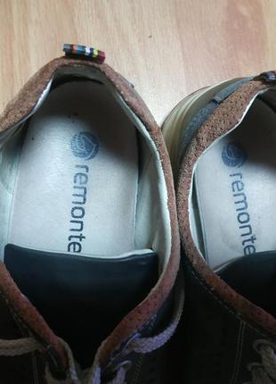 Шкіряні кросівки6 фото