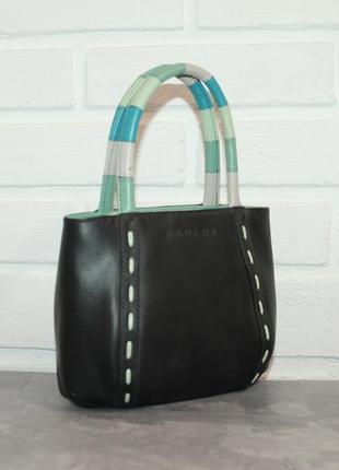 Миниатюрная кожаная сумка от английского бренда radley