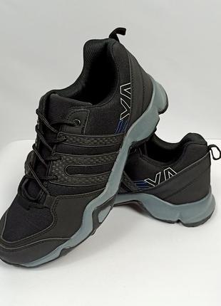 Кроссовки мужские чёрные adidas ax2 tarrex