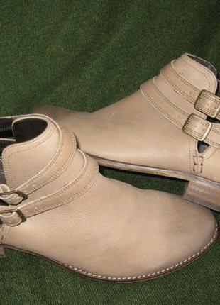 Ботинки next,р.41 стелька 27см кожа