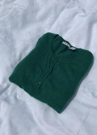 Кашемировый кардиган/свитер на пуговицах от edeis