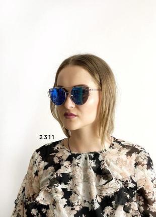 Очки женские с синими линзами