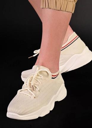 Стильні текстильні кросівки
