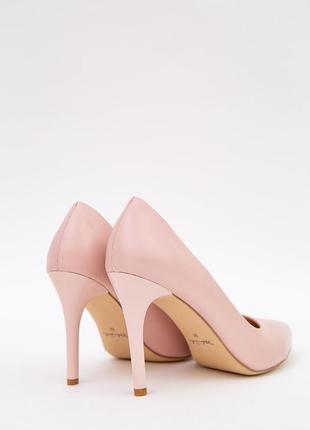 Купить туфли лодочки на шпильках размер 36,37,38 цвет пудровый недорого