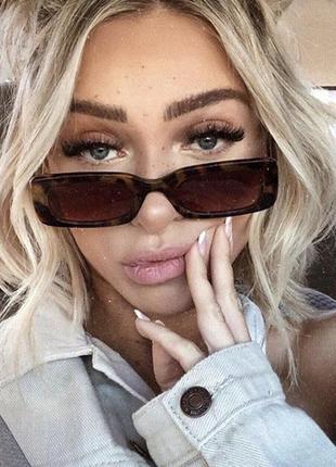 Новые женские леопардовые солнцезащитные очки