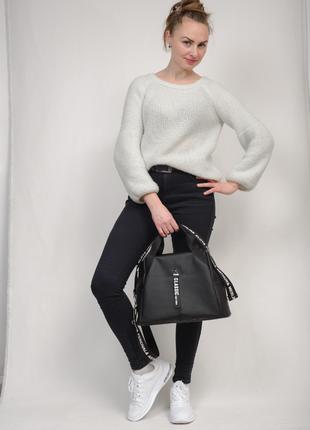 Женская спортивная сумка vogue чёрный