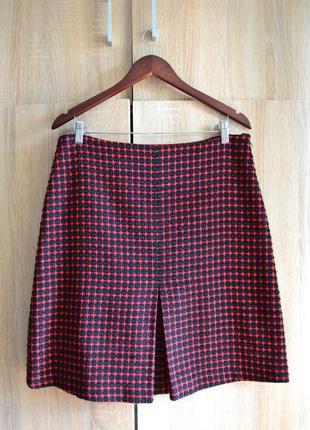 Шикарная тёплая юбка-трапеция с подкладкой phase eight