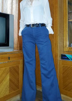 Винтажные джинсы клёш от бедра wrangler винтаж ретро