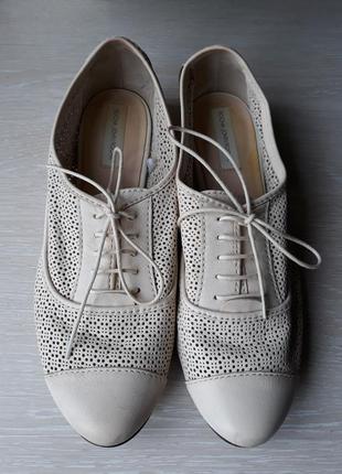 Туфли кожаные john rocha размер 40