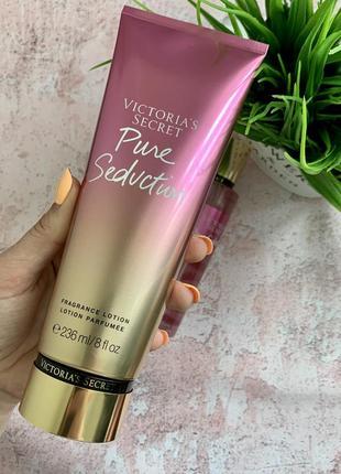Парфумовані лосьйон і спрей victorias secret з нової колекції radiant: pure seduction2 фото