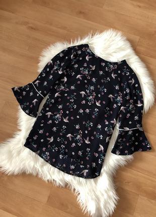 Шикарная блузка блуза рубашка нарядная