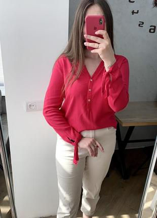 Блуза кольору фуксія s.oliver💖