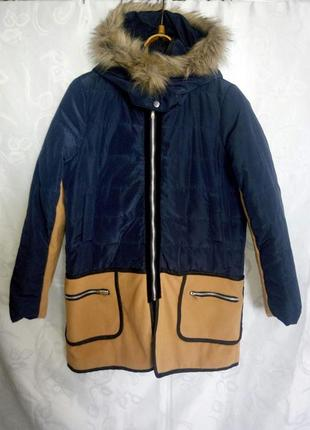 Классная стильная куртка деми пальто