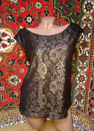 Обалденная нарядная безрукавка блуза фирменная с молнией