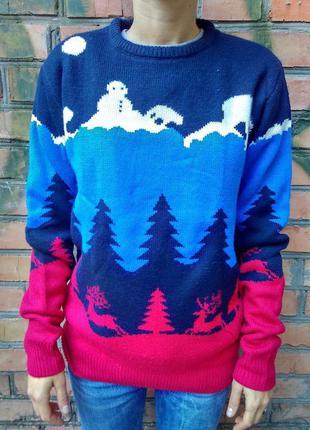 Рождественский свитер merry christmas / cedarwood state