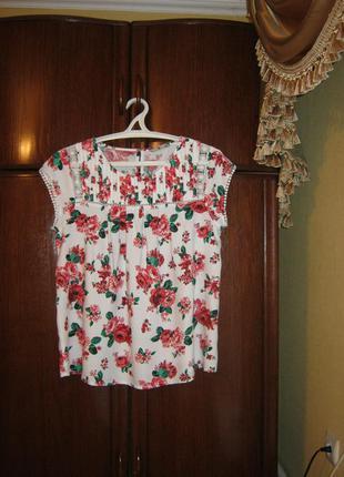 Распродажа блуза tu, 100% вискоза, размер 16