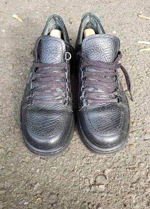 Кожаные туфли fretz men, 41 размер