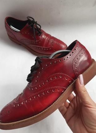 Туфли оксфорды, броги  gren george 6(италия )