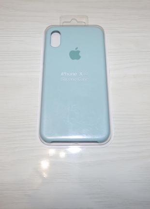 Чехол silicone case для iphone xs / x