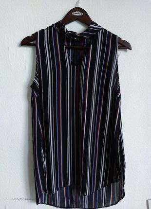 Интересная шифоновая блуза футболка