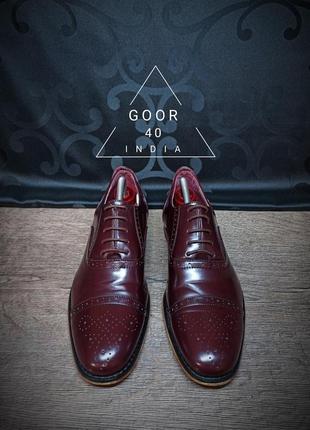 Туфли goor 40 (28.5 cm) india
