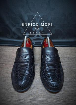 Туфли enrico mori 42 (27.5 cm) italy