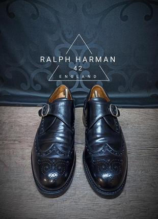 Ботинки ralph harman 42 (28 cm) england