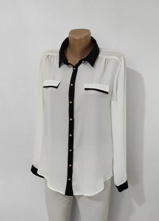 Шифонова блуза\сорочка\шифоновая блуза