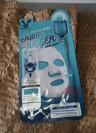 Маска elizavecca для лица увлажняющая для сухой кожи, масочка