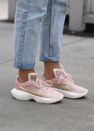 Nike vista pink green мегадышащие кроссовки