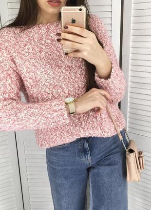 Милый фактурный свитер с кармашками от m&s